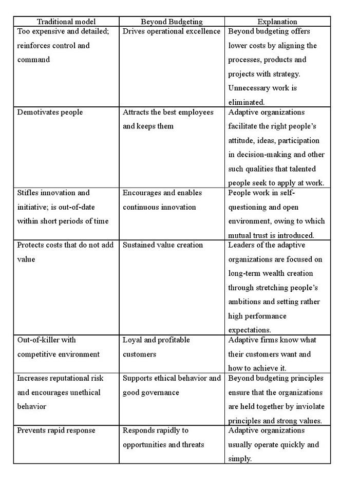 Budget management analysis essays